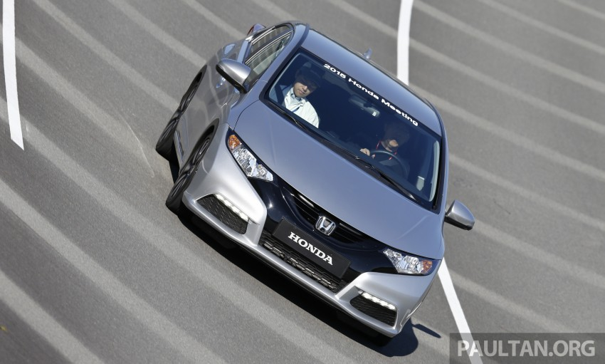 DRIVEN: Honda 1.0 and 1.5 litre VTEC Turbo – first impressions via a Euro Civic hatch and Jade RS MPV Image #404647