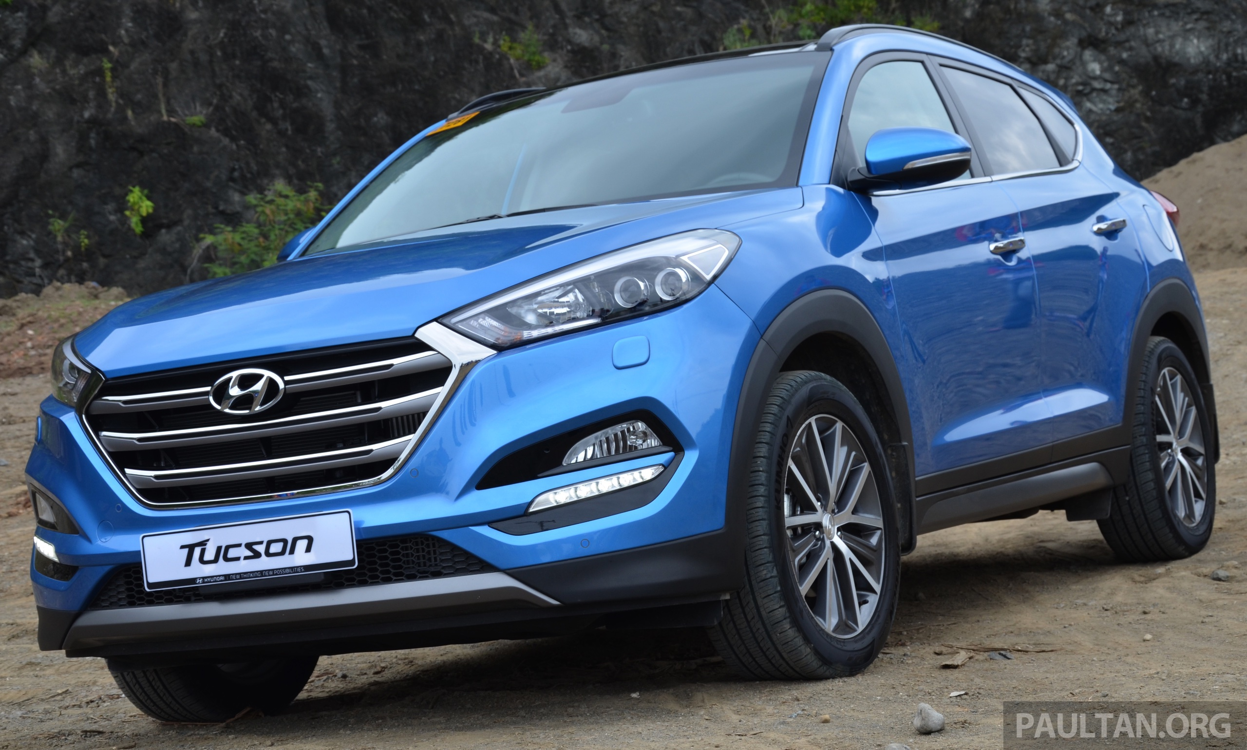 driven 2016 hyundai tucson tried in the philippines. Black Bedroom Furniture Sets. Home Design Ideas