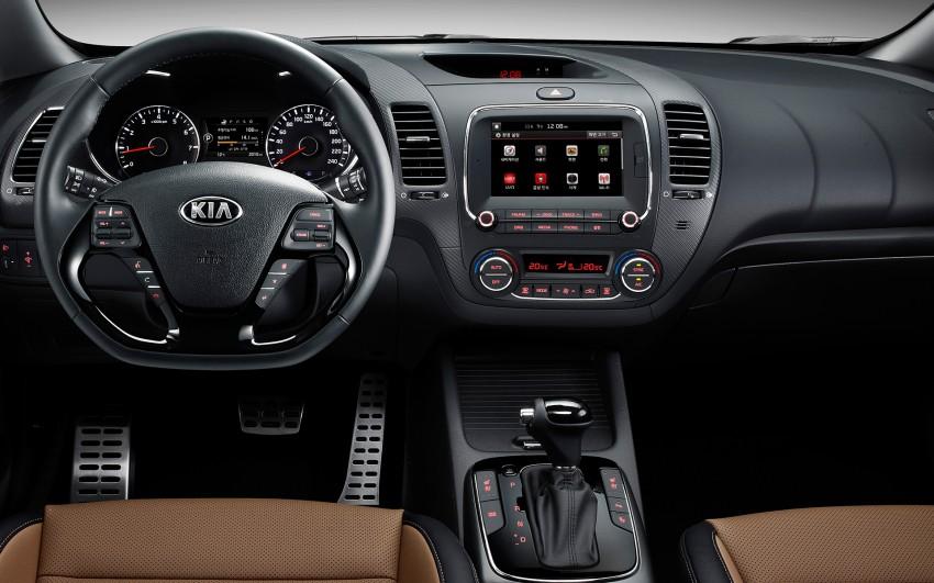 Kia Cerato facelift unveiled in South Korea, RM56k-77k Image #413664