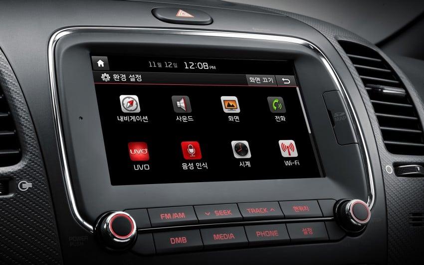 Kia Cerato facelift unveiled in South Korea, RM56k-77k Image #413667