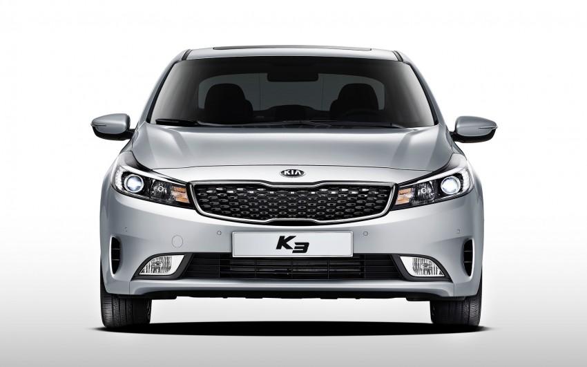 Kia Cerato facelift unveiled in South Korea, RM56k-77k Image #413679