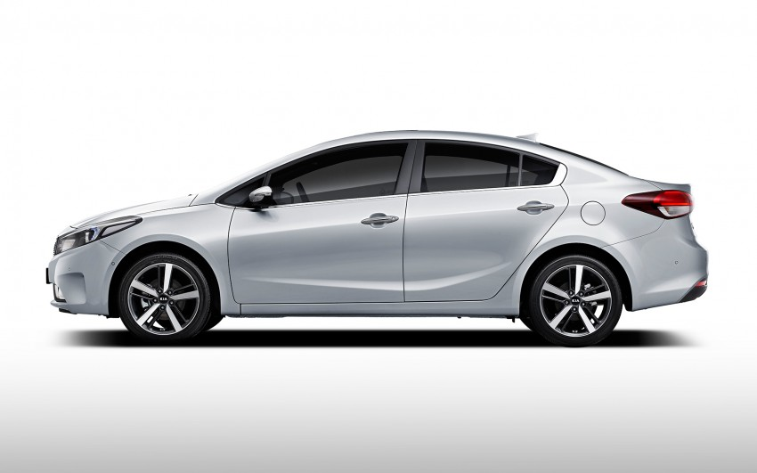 Kia Cerato facelift unveiled in South Korea, RM56k-77k Image #413680