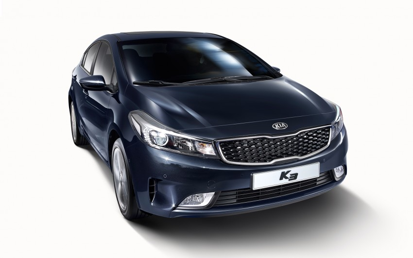 Kia Cerato facelift unveiled in South Korea, RM56k-77k Image #413684