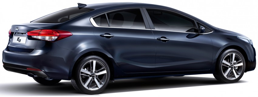 Kia Cerato facelift unveiled in South Korea, RM56k-77k Image #413685
