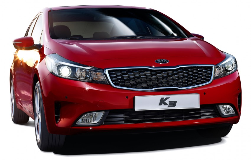 Kia Cerato facelift unveiled in South Korea, RM56k-77k Image #413686