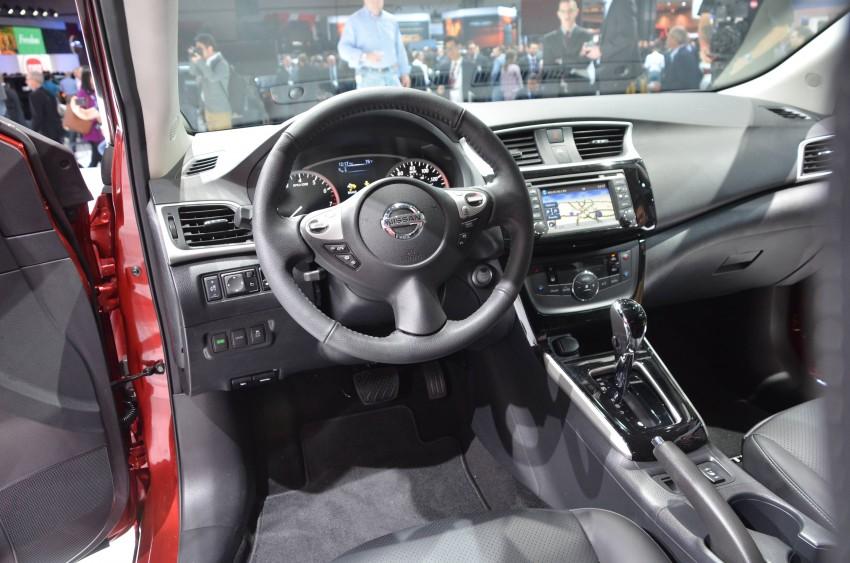 LA 2015: 2016 Nissan Sentra – Sylphy V-motion facelift Image #411101