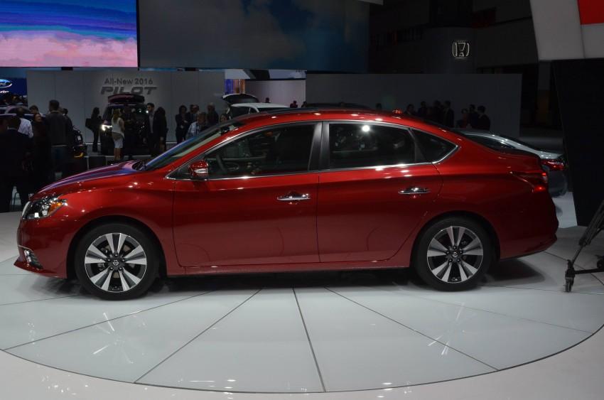 LA 2015: 2016 Nissan Sentra – Sylphy V-motion facelift Image #411104