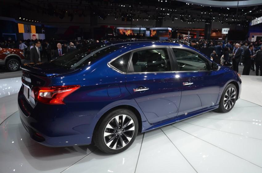 LA 2015: 2016 Nissan Sentra – Sylphy V-motion facelift Image #411107