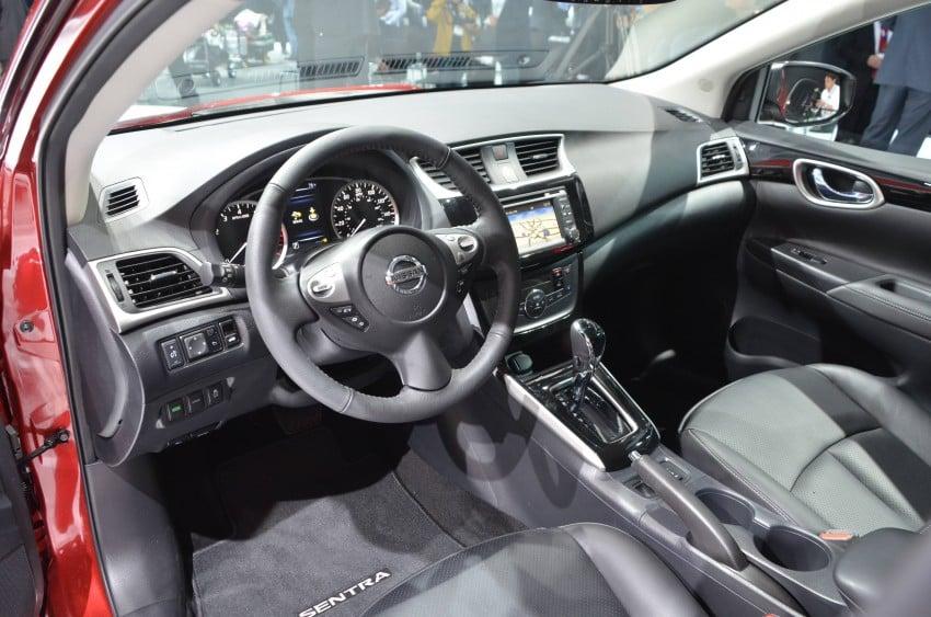 LA 2015: 2016 Nissan Sentra – Sylphy V-motion facelift Image #411110