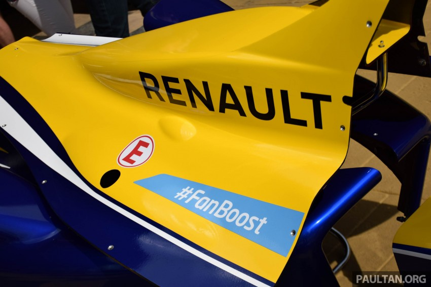 Formula E is in town this weekend; Renault e.dams and its Z.E. 15 aims for pole position in Putrajaya Image #404514