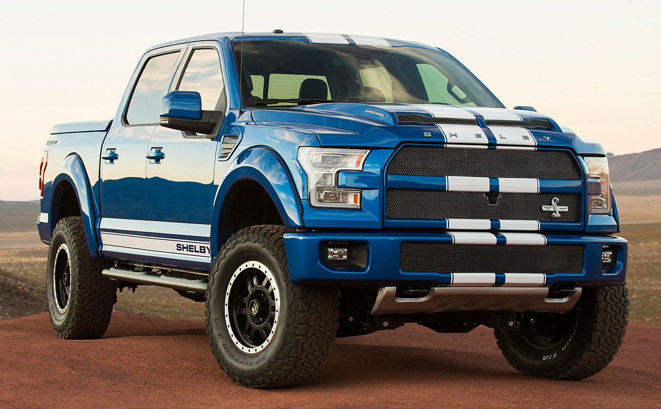 shelby f 150 pick up truck debuts at sema 700 hp. Black Bedroom Furniture Sets. Home Design Ideas