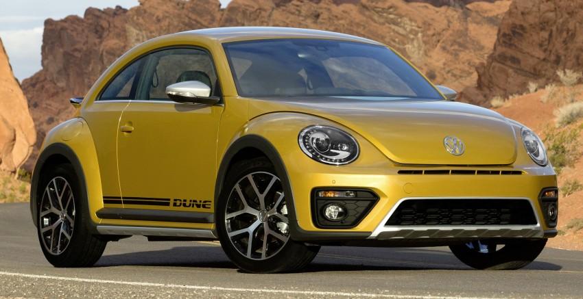 Volkswagen Beetle Dune revealed – Bug gets rugged Image #408800