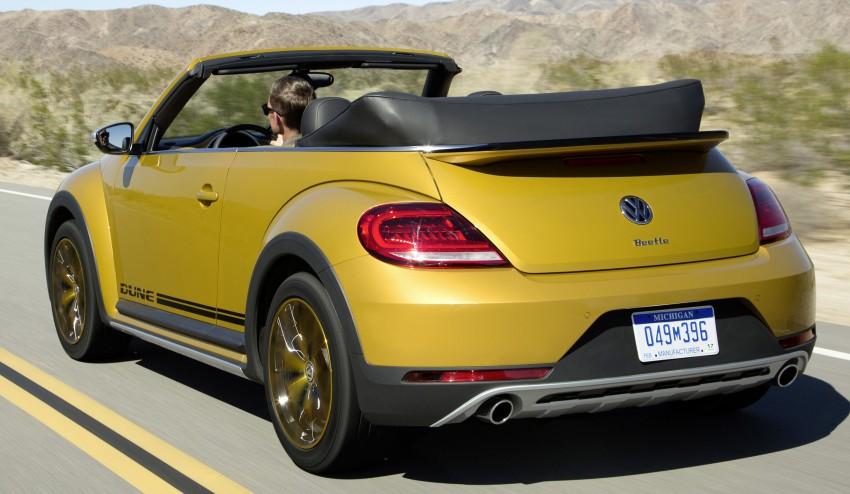 Volkswagen Beetle Dune revealed – Bug gets rugged Image #408795