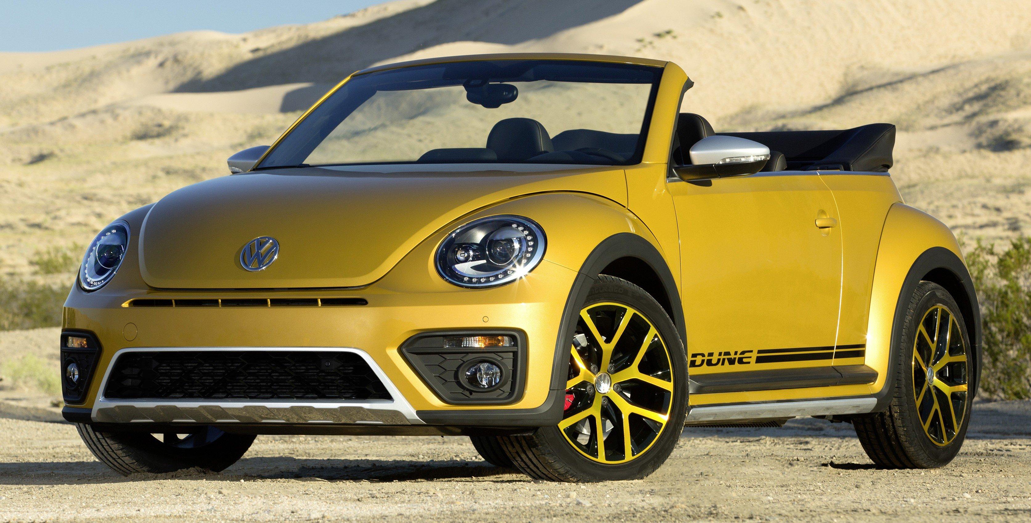 Volkswagen Beetle Dune revealed - Bug gets rugged