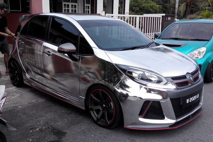 Myvi 2018 Model >> GALLERY: Proton Iriz in chrome, SD Aerodynamics kit
