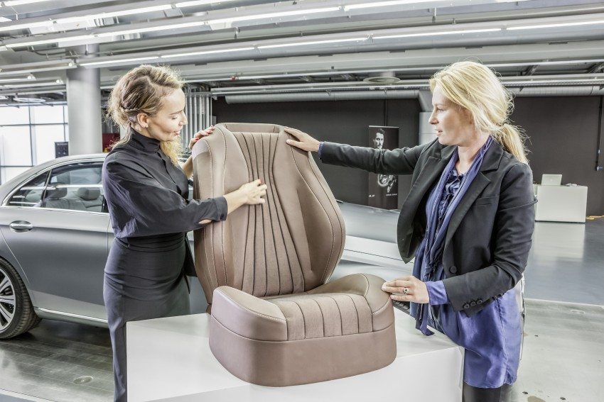 W213 Mercedes-Benz E-Class – mini S-Class interior revealed ahead of January 11 debut Image #417702