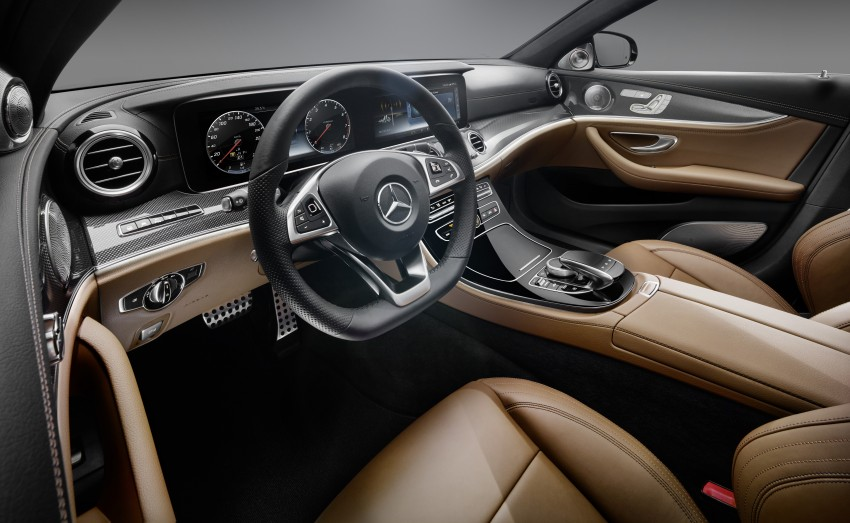 W213 Mercedes-Benz E-Class – mini S-Class interior revealed ahead of January 11 debut Image #417706