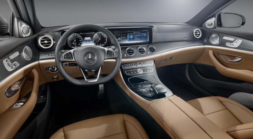 W213 Mercedes-Benz E-Class – mini S-Class interior revealed ahead of January 11 debut Image #417707