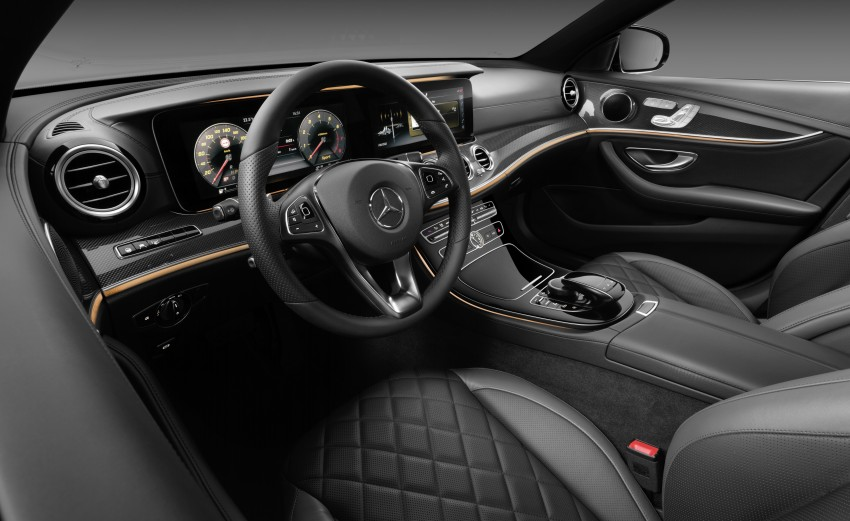 W213 Mercedes-Benz E-Class – mini S-Class interior revealed ahead of January 11 debut Image #417710
