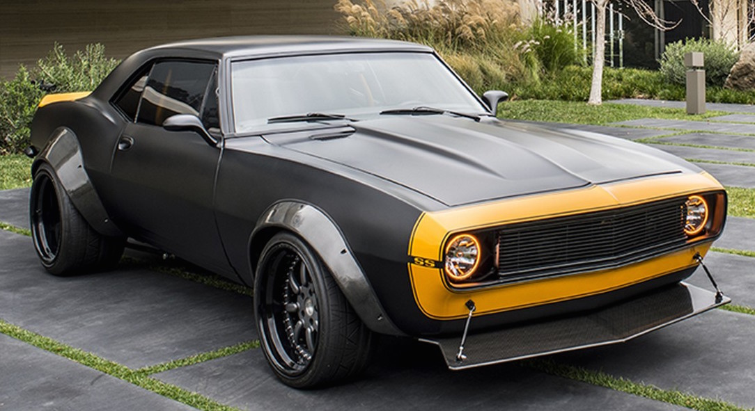 Bumblebee Chevrolet Camaro Ss Up For Auction