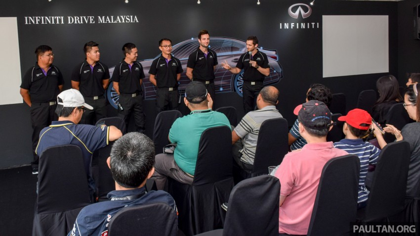 Infiniti Drive Malaysia – getting hands-on with safety Image #420100