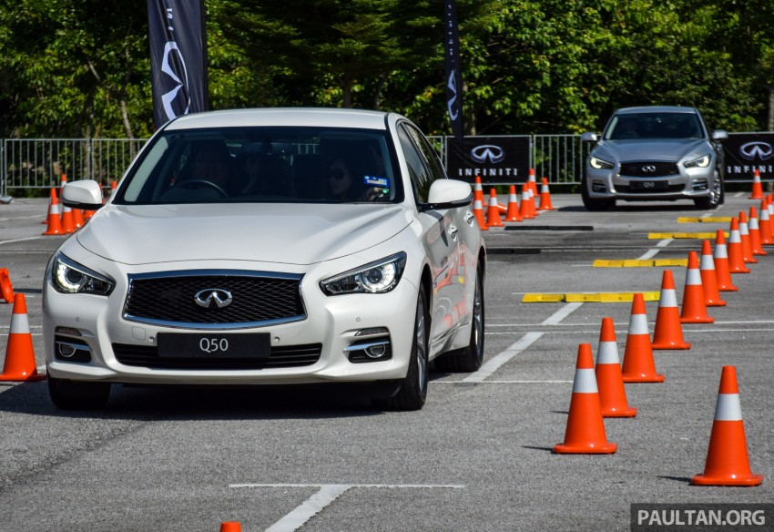 Infiniti Drive Malaysia – getting hands-on with safety Image #420110