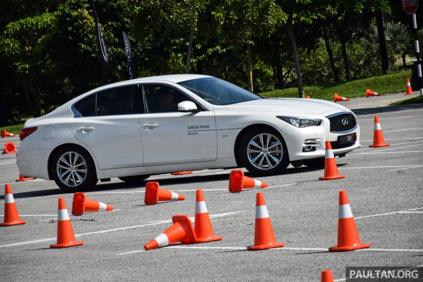 Infiniti Drive Malaysia – getting hands-on with safety Image #420112