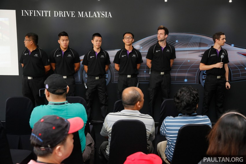 Infiniti Drive Malaysia – getting hands-on with safety Image #420093