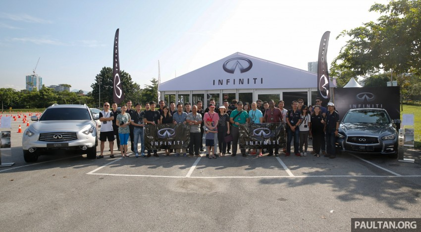 Infiniti Drive Malaysia – getting hands-on with safety Image #420098
