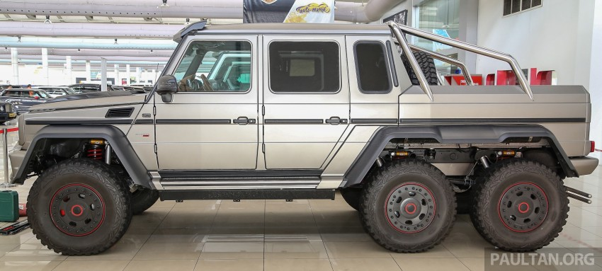 Brabus G700 6×6 in Malaysia, RM3.2 mil before tax – only 15 units in the world, all coming to Naza World Image #418136