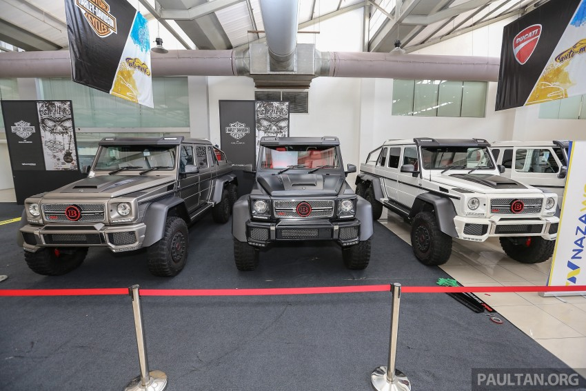 Brabus G700 6×6 in Malaysia, RM3.2 mil before tax – only 15 units in the world, all coming to Naza World Image #418174