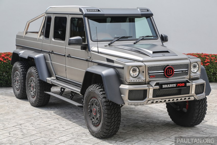 Brabus G700 6×6 in Malaysia, RM3.2 mil before tax – only 15 units in the world, all coming to Naza World Image #418176