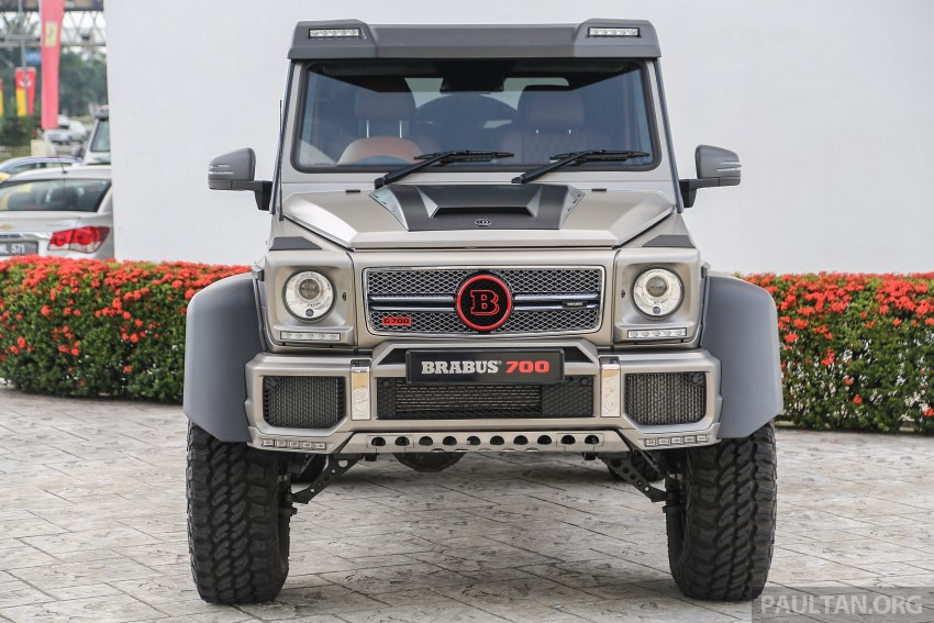 Brabus G700 6×6 in Malaysia, RM3.2 mil before tax – only 15 units in the world, all coming to Naza World Image #418180