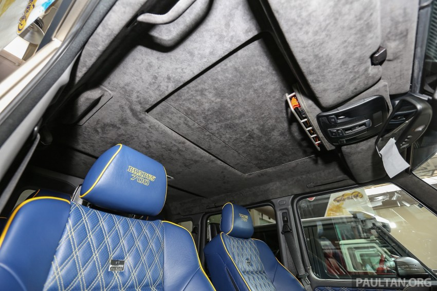 Brabus G700 6×6 in Malaysia, RM3.2 mil before tax – only 15 units in the world, all coming to Naza World Image #418218