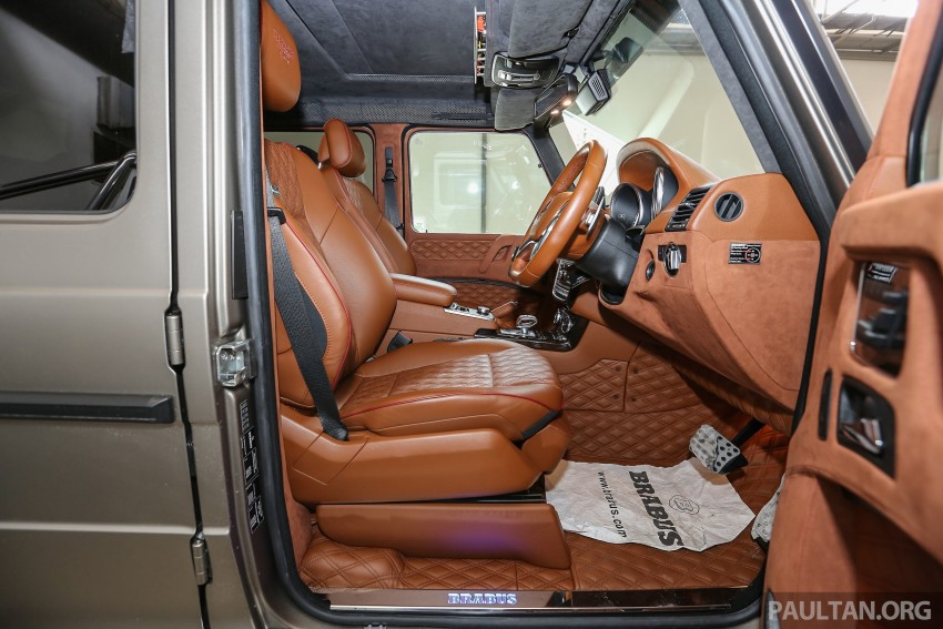 Brabus G700 6×6 in Malaysia, RM3.2 mil before tax – only 15 units in the world, all coming to Naza World Image #418247