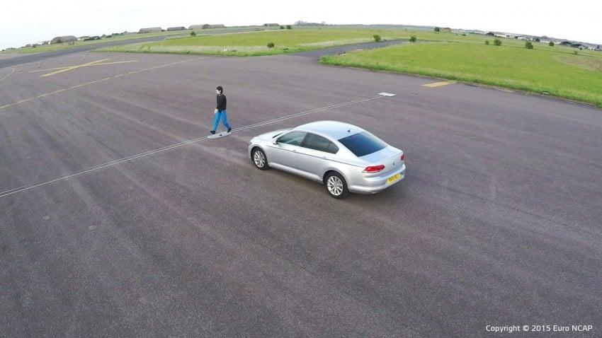 Euro NCAP to test Autonomous Emergency Braking (AEB) systems' ability to detect pedestrians Image #414419