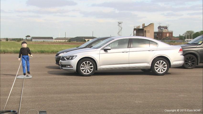 Euro NCAP to test Autonomous Emergency Braking (AEB) systems' ability to detect pedestrians Image #414411