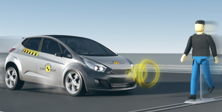 Euro NCAP to test Autonomous Emergency Braking (AEB) systems' ability to detect pedestrians Image #414413