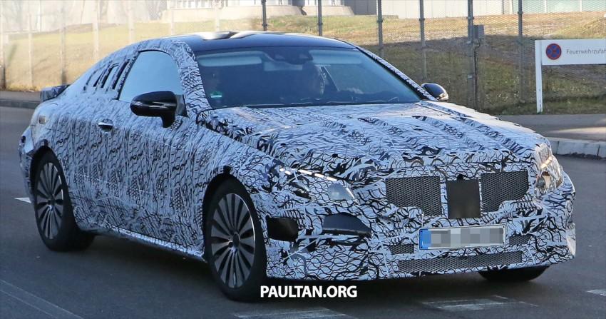 SPYSHOTS: 2017 Mercedes-Benz E-Class Coupe Image #417823