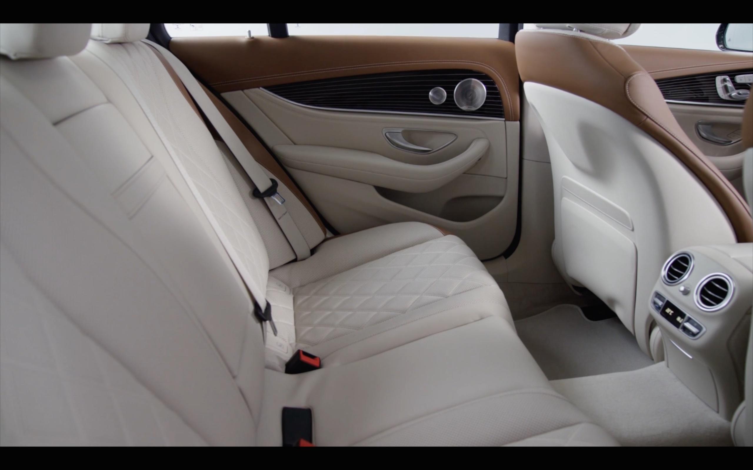 Mercedes E Interior
