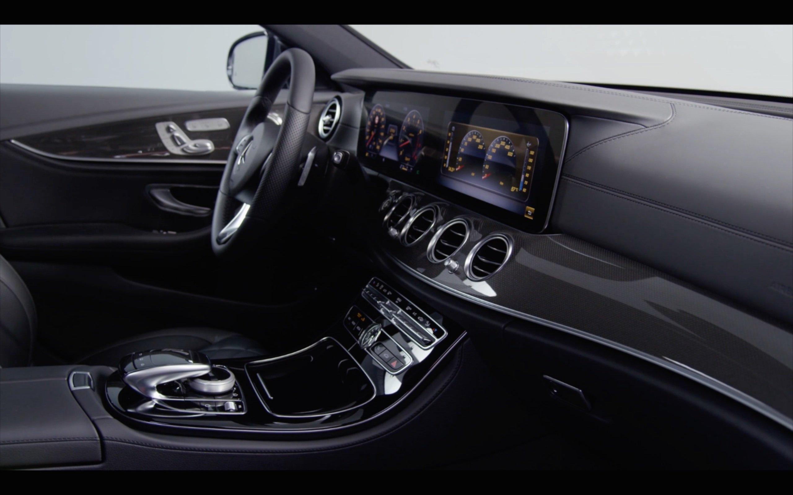Video w213 mercedes benz e class interior detailed image for Mercedes benz e350 interior