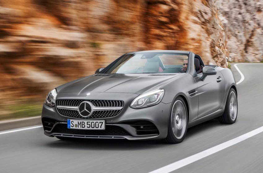 Mercedes-Benz SLC roadster debuts ahead of Detroit Image #419712
