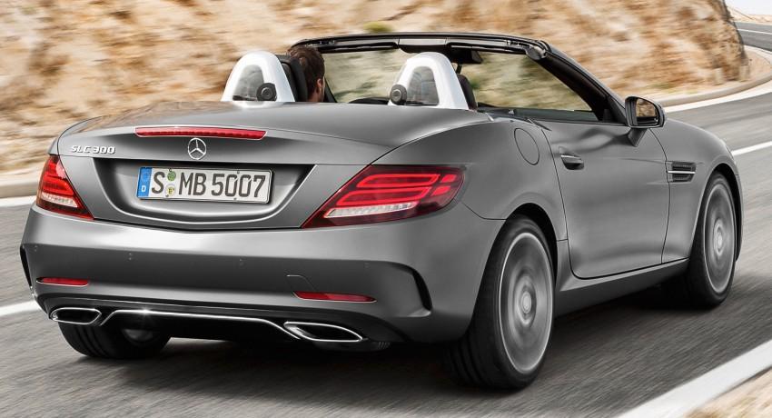 Mercedes-Benz SLC roadster debuts ahead of Detroit Image #419716