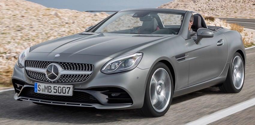 Mercedes-Benz SLC roadster debuts ahead of Detroit Image #419717
