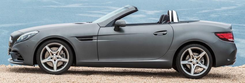 Mercedes-Benz SLC roadster debuts ahead of Detroit Image #419718