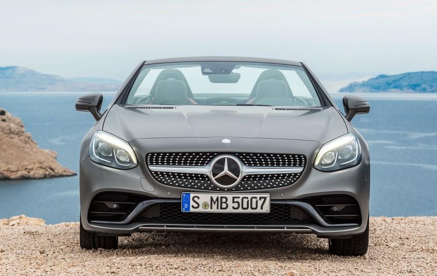 Mercedes-Benz SLC roadster debuts ahead of Detroit Image #419719