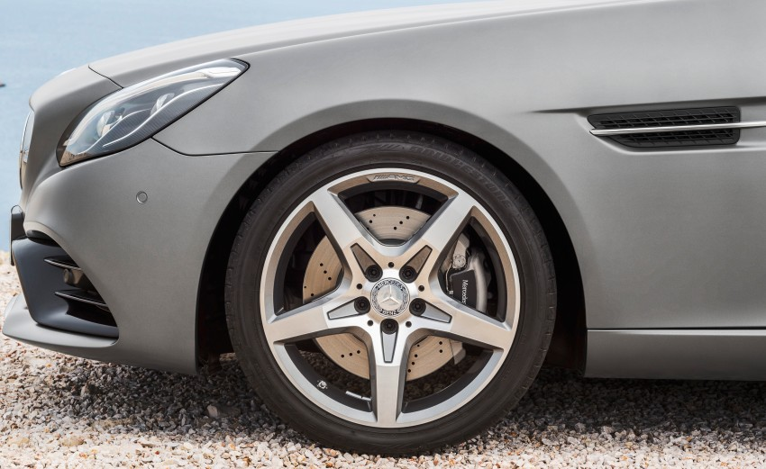 Mercedes-Benz SLC roadster debuts ahead of Detroit Image #419723