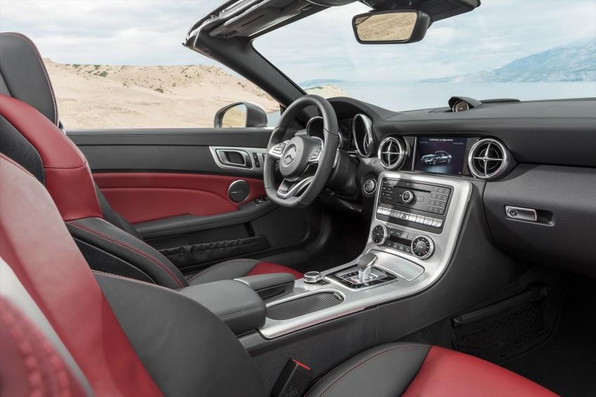 Mercedes-Benz SLC roadster debuts ahead of Detroit Image #419726