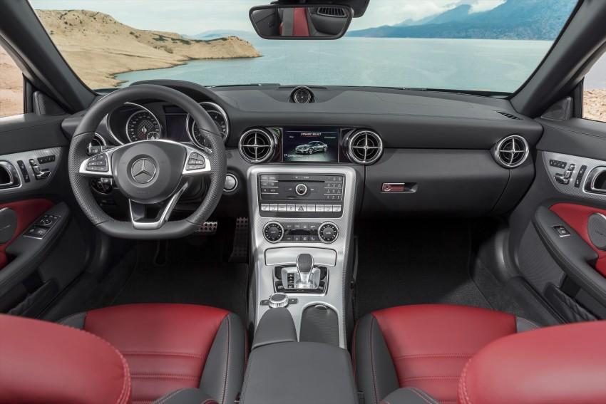 Mercedes-Benz SLC roadster debuts ahead of Detroit Image #419727