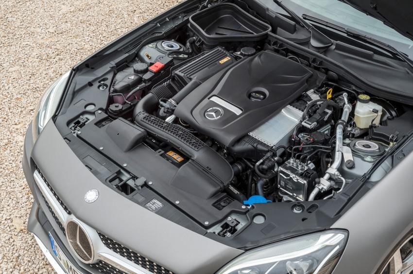 Mercedes-Benz SLC roadster debuts ahead of Detroit Image #419728
